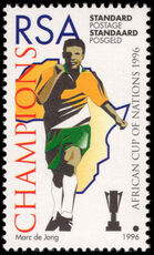 South Africa 1996 Football unmounted mint.