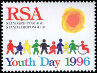 South Africa 1996 Youth Day unmounted mint.