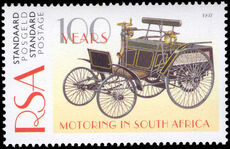 South Africa 1997 Centenary of Motoring unmounted mint.