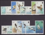 South Georgia 1987 Birds unmounted mint.