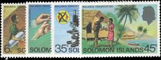 British Solomon Islands 1977 Malaria unmounted mint.
