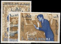 Ras Al Khaima 1965 Pres. Kennedy Commemoration unmounted mint.