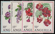 Anguilla 1970 Flowers unmounted mint.