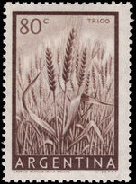 Argentina 1955-61 80c Wheat unmounted mint.