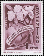 Argentina 1959 Horticultural Exhibition unmounted mint.