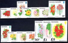Ascension 1981-82 Flowers unmounted mint.