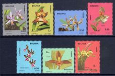 Bolivia 1974 Orchids unmounted mint.