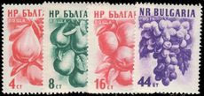 Bulgaria 1956-57 Fruit 1956 values unmounted mint.