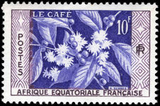 French Equatorial Africa 1956 Coffee unmounted mint.