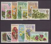 Falkland Islands 1972 Flowers set unmounted mint.