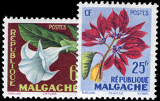 Malagasy 1958 Tropical Flora unmounted mint.