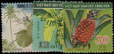 North Vietnam 1959 Fruits unmounted mint.