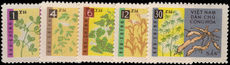 North Vietnam 1962 Plants unmounted mint.