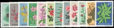 South Korea 1966 Korean Plants unmounted mint.