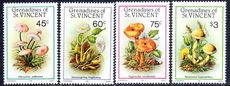St Vincent Grenadines 1986 Fungi unmounted mint.