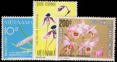 South Vietnam 1974 Orchids unmounted mint.