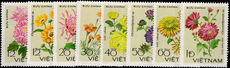 Vietnam 1978 Chrysanthemums unmounted mint.