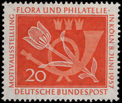 West Germany 1957 Constructive Philately unmounted mint.