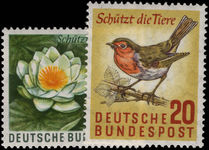 West Germany 1957 Nature Protection unmounted mint.