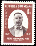 Dominican Republic 1970 Pedro Pina unmounted mint.