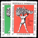 Dominican Republic 1966 General Election unmounted mint.