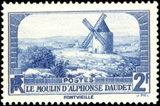 France 1936 Daudets Windmill unmounted mint.