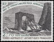 FSAT 1980 HMS Terror at Arched Rock unmounted mint.