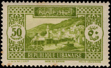 Lebanon 1930-36 50p Deir el-Kamar (tiny perf tip tone( lightly mounted mint.