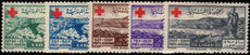 Lebanon 1947 Red Cross lightly mounted mint.