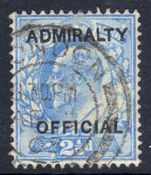 1903 2½d Admiralty Official fine used.