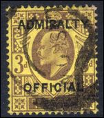 1903 3d Admiralty Official used.
