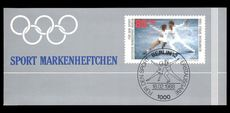 Berlin 1988 Sports Promotion Fund booklet unmounted mint.