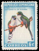 Dominican Republic 1964 6c Hispaniolan Amazon unmounted mint.