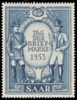 Saar 1953 Stamp Day mounted mint.