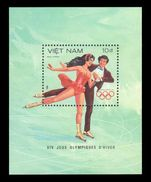 Vietnam 1984 Winter Olympics souvenir sheet unmounted mint.