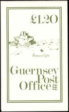 Guernsey 1981 £1.20 Rokaine booklet unmounted mint.