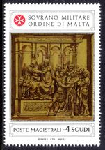 Sovereign Military Order of Malta 1981 Panels of St. John the Baptist Cathedral Sienna 3rd series unmounted mint.