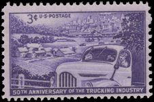 USA 1953 Trucking Industry unmounted mint.