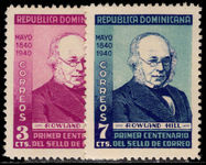 Dominican Republic 1940 Stamp Centenary unmounted mint.