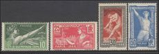 France 1924 Olympic Games unmounted mint.