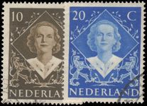Netherlands 1948 Coronation fine used.