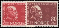 Norway 1948 Forestry Society unmounted mint.