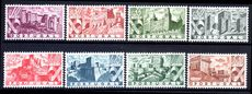Portugal 1946 Portuguese Castles fine mint lightly hinged.