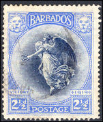 Barbados 1920-21 Victory 2½d fine used.