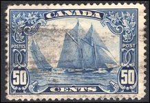 Canada 1928-29 50c Blue Nose fine used.