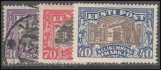 Estonia 1924-27 Theatres mint or fine used