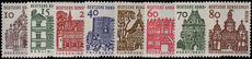 Berlin 1964-69 Architecture no background set unmounted mint.