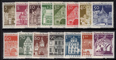 Berlin 1964-69 Architecture background set unmounted mint.