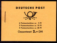 East Germany 1960 Five Year Plan booklet unmounted mint.