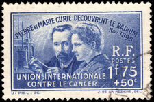 France 1938 Anti-Cancer Fund fine used.